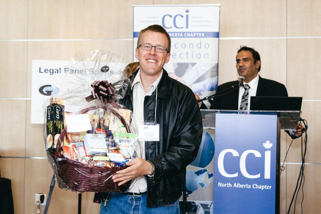 Door Prize recipient